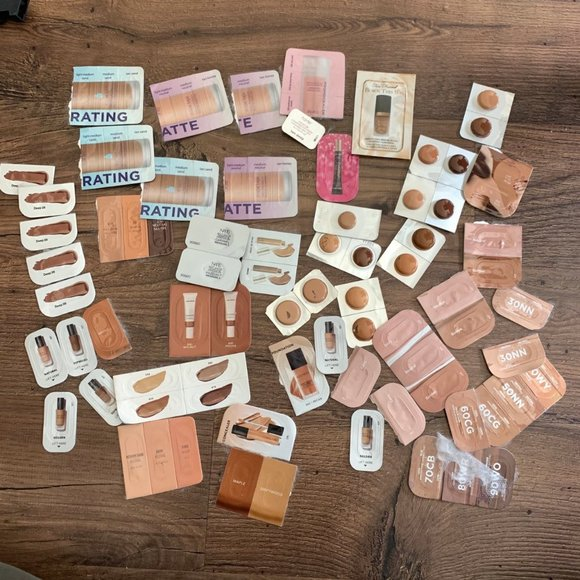 Collection of Foundation Samples